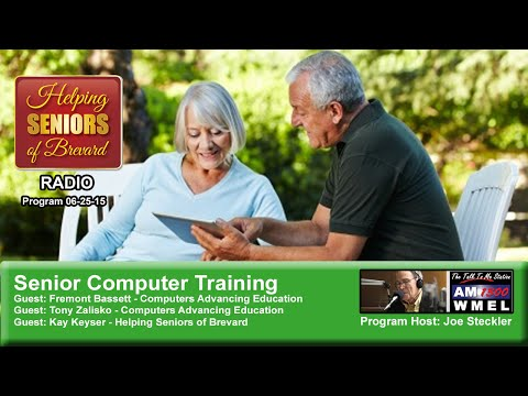 Senior Computer Training - Helping Seniors Radio 06/25/15