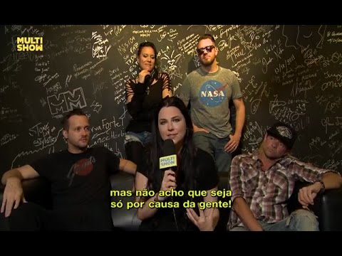 Evanescence Interview on Multishow (05/05/2017)