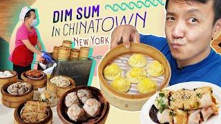 DIM SUM in CHINATOWN, Salted Egg SOUP DUMPLINGS & Secret Hotpot Project