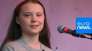 Watch: Greta Thunberg makes powerful climate change speech in London