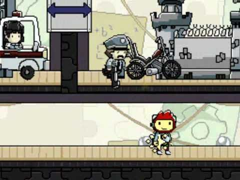 How To Train The Police Dog In Scribblenauts