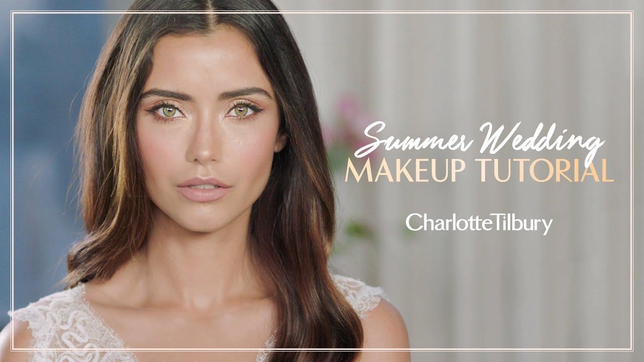 c373164ea14d Summer Wedding Makeup Tutorial | Charlotte Tilbury - YouTube
