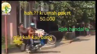 MAEL LEE  NGANTER PENUMPANG KE RUMAH PAK RT ONGKOS NYA 50 RIBU