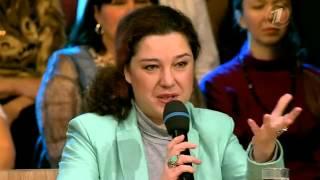 Анна Белоусова в программе Время Обедать на Первом Канале - О масле