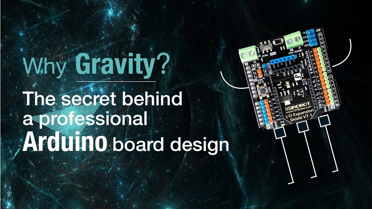 Gravity: IO Expansion Shield for Arduino V7 1 - DFRobot