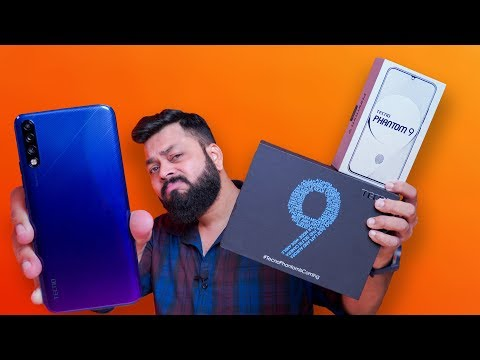 Tecno Phantom 9 Unboxing & First Impressions ⚡ चांगला आहे का?