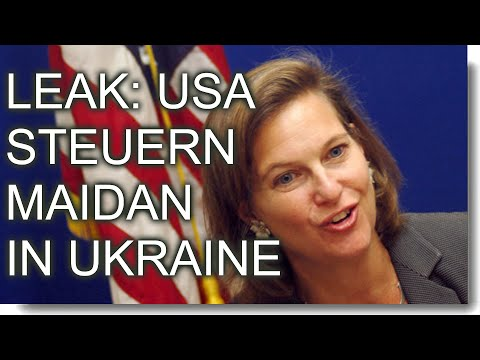 Leak: USA steuern Maidan in der Ukraine