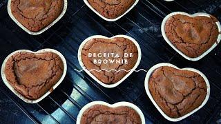 Receita de Brownie chocolatudo