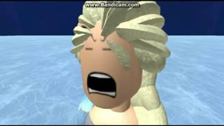 Let it go ~ Frozen ~ Funny ~ Roblox Animation