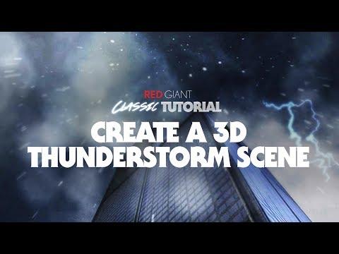 Classic Tutorial   Create a 3D Thunderstorm Scene