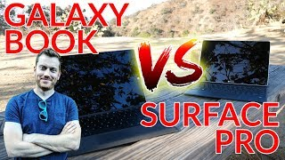 Samsung Galaxy Book: Review + Surface Pro Face-Off!