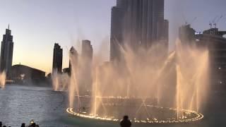 Dubai Dancing Fountain feat Kpop EXO s Power