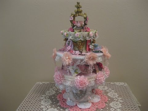 Shabby Chic Candy Station Part Two