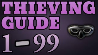 1-99 Thieving Guide Runescape 2014 UPDATED - Fastest Method [P2P only]