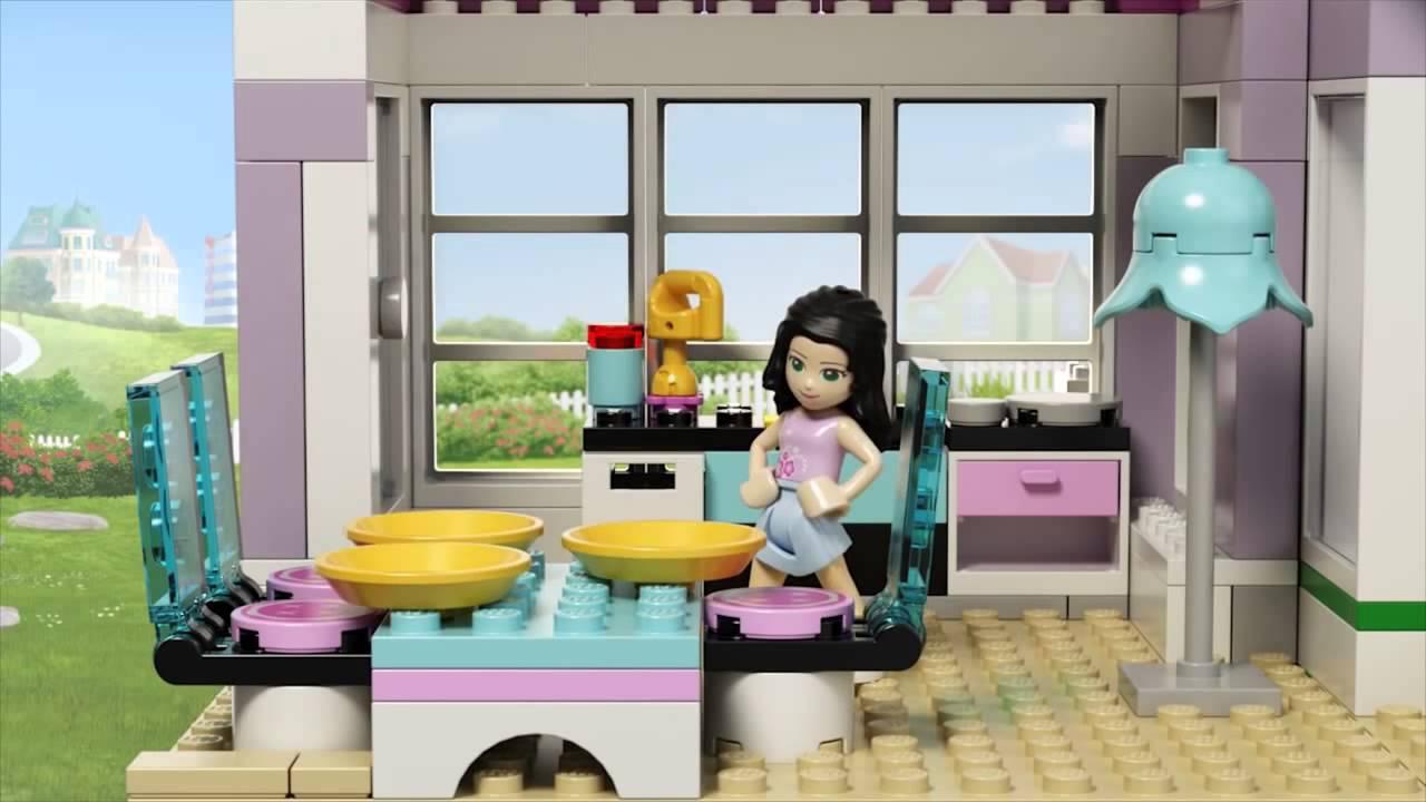 Lego Friends Dom Emmy 41095 Youtube