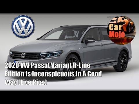 2020 VW Passat Variant R-Line Edition Is Inconspicuous In A Good Way | CarMojo