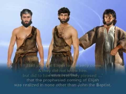 Hasil gambar untuk elijah and john the baptist