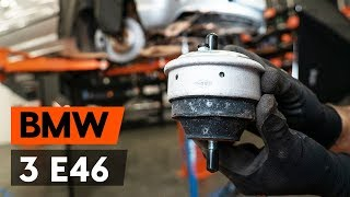 Byta Hållare motormontering bak och fram gör-det-själv - video online