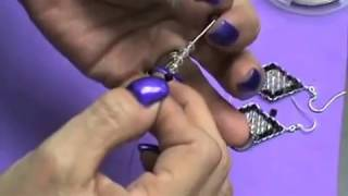 Dramatic Diamonds Earring Instructions