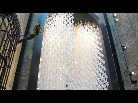Wind Portal by Najla El Zein in V&A Museum