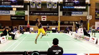 Czech Open 2017 - MS Kento Momota - Adulrach Namkul - 1. game