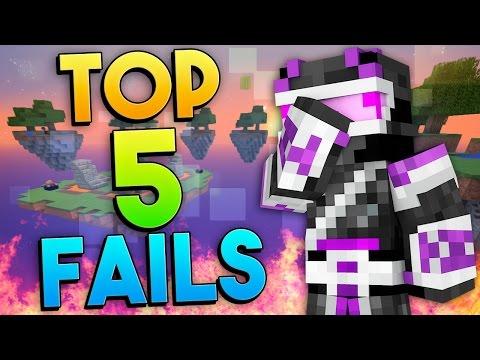TOP 5 FAILS EN MINECRAFT | SEMANA 1