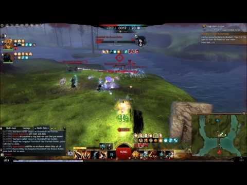 Guild wars 2- ArenaNet devs getting ran over by the Edgemaster