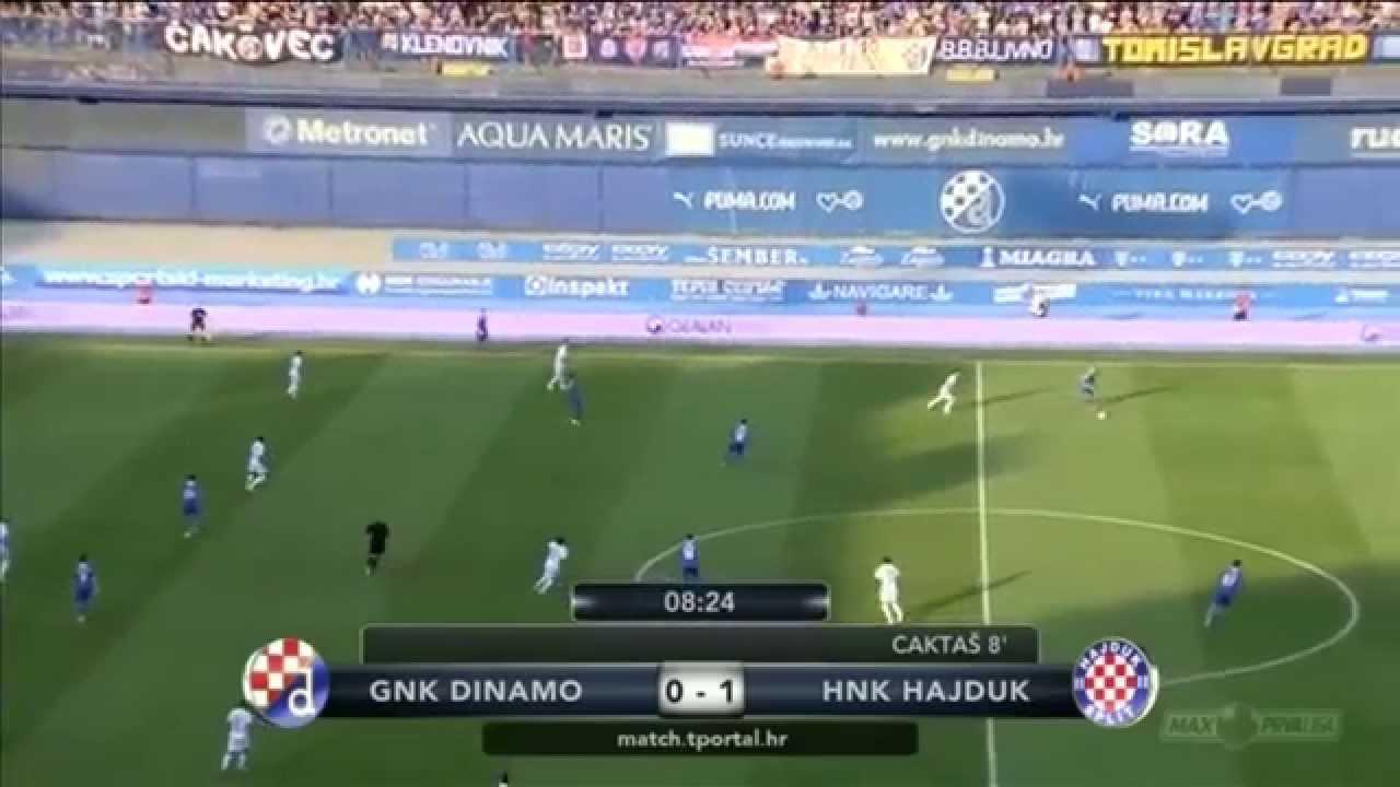 Gnk Dinamo Zagreb V Hnk Hadjuk Split Youtube