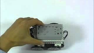 Gilbo & Robotis - Bioloid Beginner  Kit - Engel Algılayan Araba www.robotsepeti.com www.gilbo.com.tr