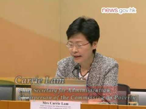 Poverty line set for HK (28.9.2013)