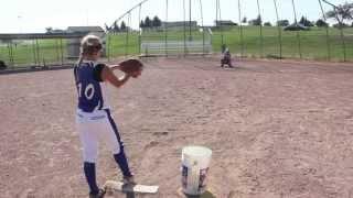 Kassi Soelter Softball Pitcher 2015 Graduate