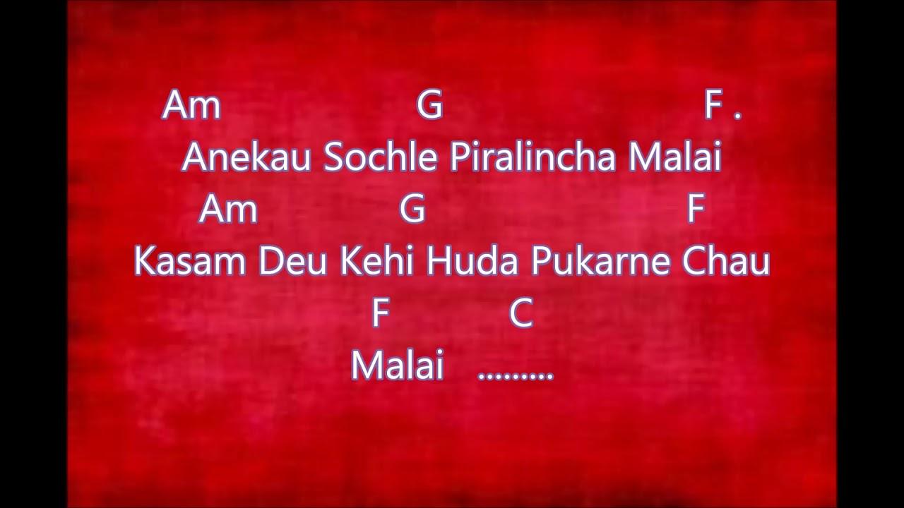 Mamta - Naren Limbu guitar chords and lyrics