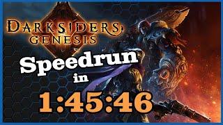 [WORLD'S FIRST] Darksiders: Genesis Speedrun in 1:45:46