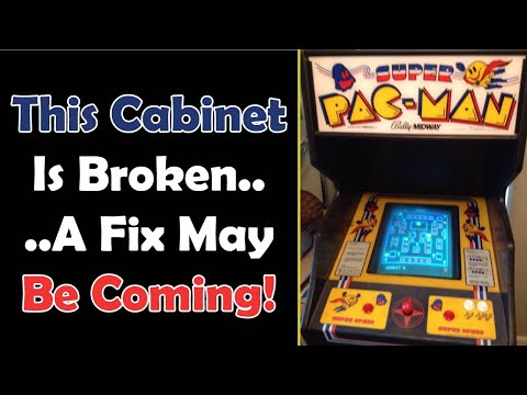 BREAKING: A Fix Is Coming For The Glitched Arcade1up Super Pac-Man from Unqualified Critics