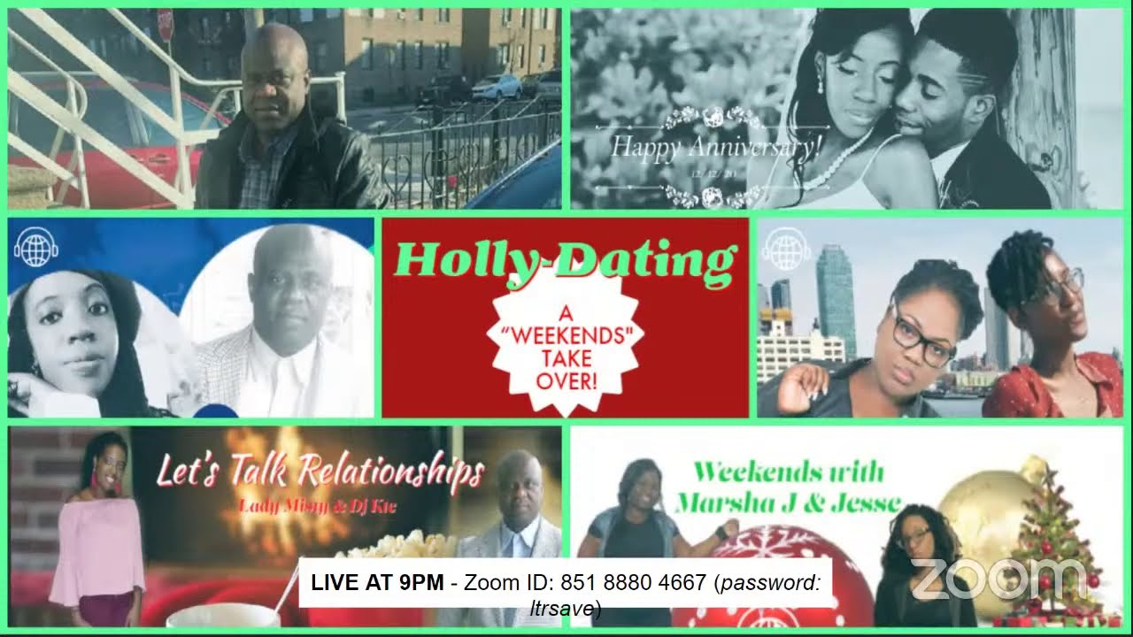 "Let's Talk Relationships - Holiday Edition: Holly-Dating, A ""Weekends"" Takeover #umeradio"