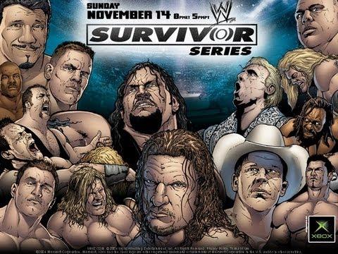 WWE Survivor Series 2004 highlights