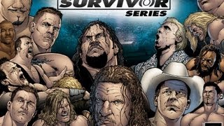 WWE Survivor Series 2004 highlights