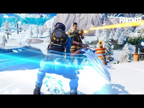 "New ""Infinity Blade"" Sword Gameplay in Fortnite"