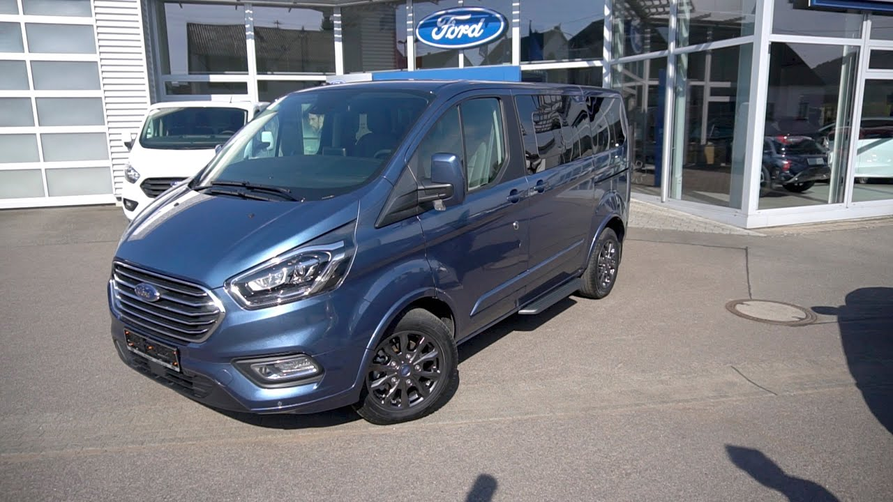 Ford Tourneo Custom Bus Titanium X 2020 Review Preview Overview Complete Walkaround Youtube