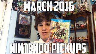 Awesome Wii U Pickups! - March 2016 Nintendo Pickups!