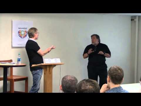 KansasFest 2013 - Keynote address by Randy Wigginton with Steve Wozniak