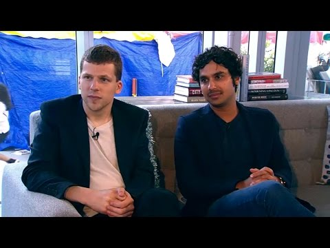 Kunal Nayyar on Yes, My Accent is Real and Jesse Eisenberg on Bream Gives Me Hiccups