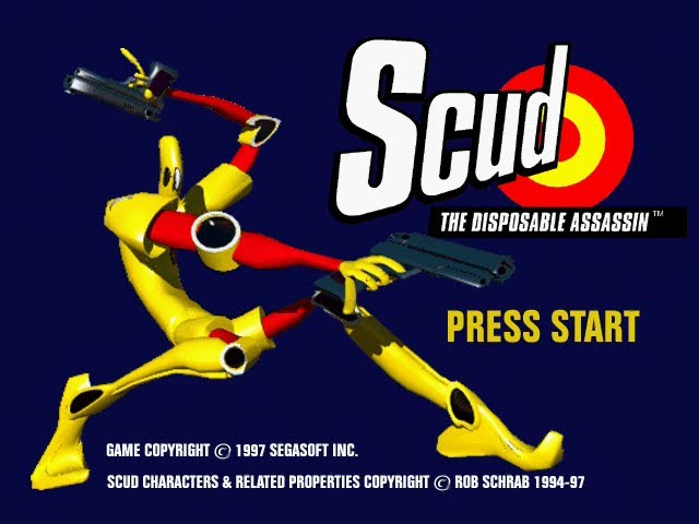 Saturn Longplay [102] Scud - The Disposable Assassin (US)