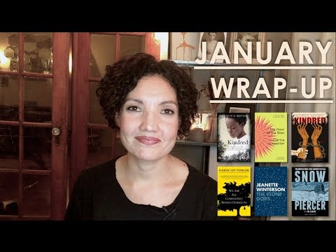 January Wrap Up where words