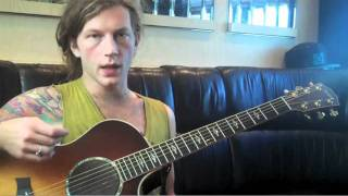 "Rhythm Guitar Lesson - ""When You See My Friends"" by Brooks Betts"