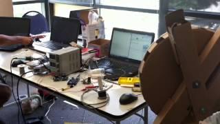 Giant Cardboard Robot Arm