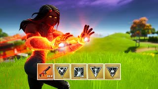 Fortnite All NEW Mythic Weapons in One Game (Iron Man's Repulsor, Unibeam & Thor's Mjolnir Strike)
