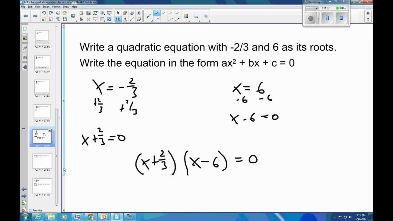 How to Create a Simple Quadratic Formula Program on the TI-89 and Voyage 200