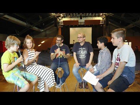 Henni Nachtsheim und Rick Kavanian Interview, Video AG der Erich-Kästner-Gesamtschule, Kranichstein
