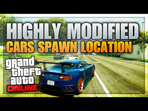 GTA 5 Rare HIGH END Cars – FULLY Modified Cars Spawn Location! (GTA 5 Secret Car Locations)